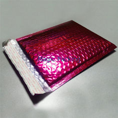 Recyclable Colored Metallic Bubble Mailers , Bubble Shipping Bags Moisture Proof