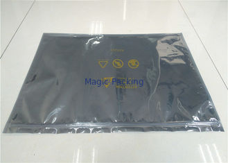 Customized Logo Ziplock ESD Shielding Bags Static Proof For PCB / IC Packaging