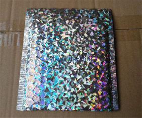 Recycled Holographic Bubble Envelopes Decorative Mailing Bags Self Sealing