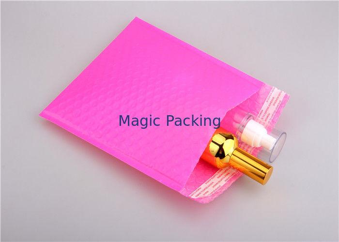 Pink Padded Mail Bags With Co - Extruded Polyethylene Film 165x255 #B6