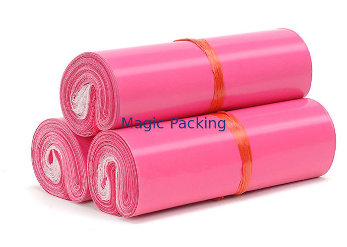 Pink Color	Co-Extruded Bags Mailing Envelopes Water Resistant For Shipping
